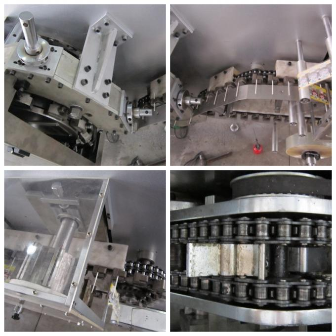 Stainless steel Jelly Lollipop Candy Production Line Power 8 Kw