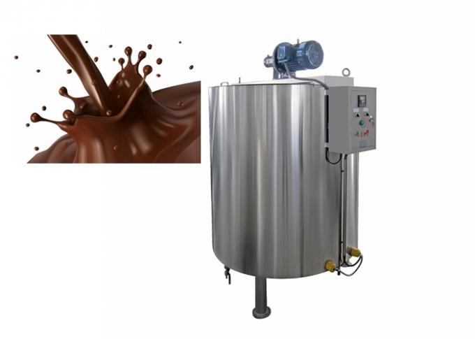 Stainless Steel Chocolate Tempering Machine Automatic 110V-480V