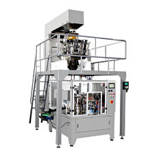 China Precise Positioning Automatic Food Packing Machine Double Servo Control System supplier