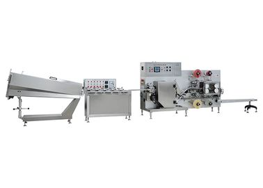 China Stainless steel Jelly Lollipop Candy Production Line Power 8 Kw supplier