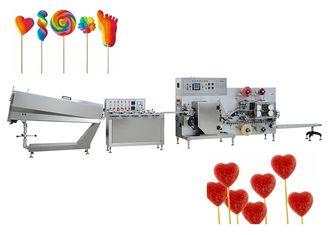 High Output Candy Production Line , Irregular Lollipop Making Machine