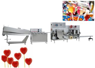 China Multicolor Irregular Candy Production Line , 3D Lollipop Production Line supplier