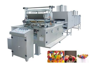 Stainless steel materials Automatic Cotton Candy Production Line  Easy Operation output 150-600kg/h