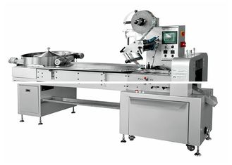China 380V 50Hz Candy Packaging Machine , Spherical Lollipop Wrapping Machine supplier