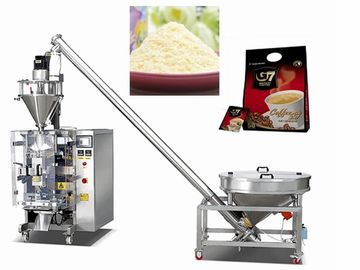Commercial electric automatic soybean milk powder vertical packing machine for small business