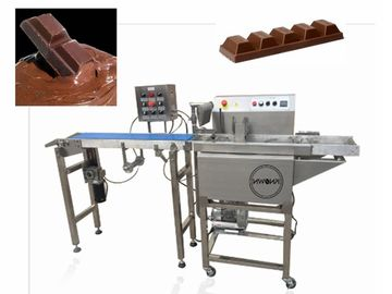 China 8kg/H Chocolate Melting Machine With Omron Sensor  1 Year Warranty supplier