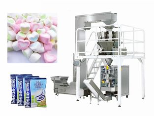 China Soft Cotton Candy Packaging Machine High Speed 5-55 Bag / Min 2.4KVA supplier