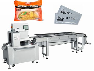Multi - Function Candy Packaging Machine / Popsicle Feeding Packing Machine
