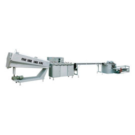 Fancy Candy Production Line , Cylindrical Toffee Candy Making Machine