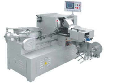 China High Speed Double Twist Candy Wrapping Machine Equipped With Feeding Tray factory