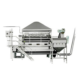 Fully Automatic Cereal Production Line For Oatmeal Rice Powder Making