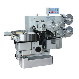 China Automatic Toffee Candy Double Twist Wrapping Machine 1 Year Warranty factory