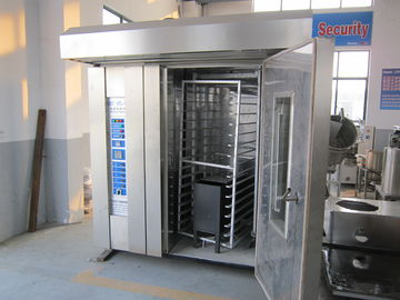 3.5KW Rotary Oven Bakery Production Equipment , Break Making Machine