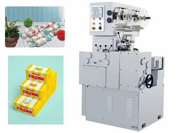 Trident Chewing Gum Candy Forming Machine / Electric Twist Wrapping Machine