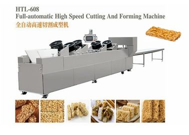 Healthy Peanut Candy Bar Brittle Crisp Making Machine With Microcomputer Control