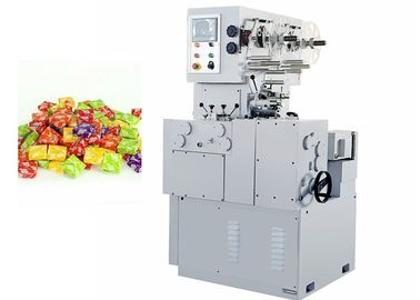 Electric Chocolate Bar Production Line , Full Automatic Cutting And Twisting Swiss Sugus Candy Packing Machine