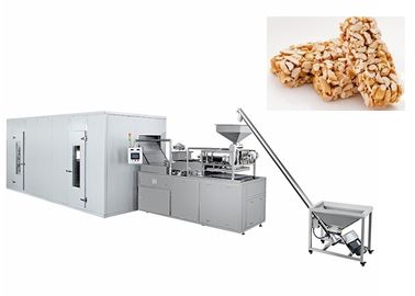 Healthy Small Chocolate Nuts Bar Cereal Production Line Multinational 380V 5.5KW