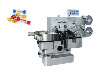 China Single Double Twist Candy Chocolate Packing Machine 1 Year Warranty factory