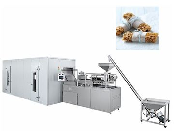 China Oats Cereals Chocolate Bar Production Line / Automatic Chocolate Making Machine factory