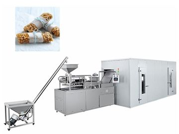 China Healthy Snack Cereal Bar Making Machine / Oat Chocolate Production Line factory