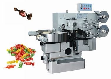 China Luxury Custom Made Rectangle Candy Twist Packing Machine Hihg Speed 220-500pcs / Min factory