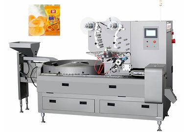 China Automatic Small Hard Or Soft Candy Pillow Packaging Machine Capacity 800 Grains / Min factory