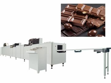 China Pure Solid Chocolate Bar Manufacturing Equipment Automatic Depositing And Forming factory