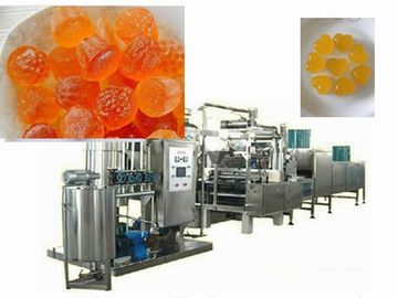 China Multifunctional Rock Candy Making Machine / Hard Candy Depositing Line factory