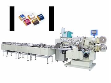 China Small Chocolate Packaging Machine / Automatic  Fold Wrapping Machine factory