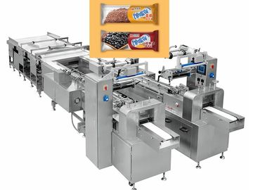 China 3 Phase Pastry Making Equipment / Lifting Type Automatic Feeding Packing Line factory