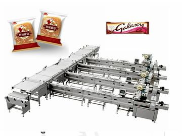 Multi - Function Sugar Chocolate Packaging Machine / Foil Wrapping Machine