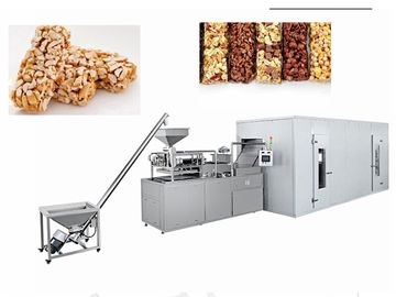 Healthy Oatmeal Chocolate Bar Food Production Equipment Capacity 100~350 Kg/H
