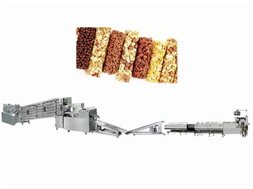 China 1000kg / Hour Candy Cutting Machine / Cereal Bar Making Machine factory