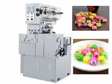 China Auto Forming And Double Twist Wrapping Machine For Candy Product In Shape Of Column And Square factory