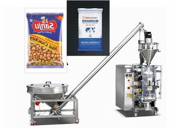 Vertical Pastry Packaging Machine / Wheat Flour Masala Powder Filling Packing Machine