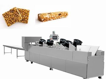 China Multi - Function Candy Cutting Machine Rice Bar Flatten Shall Open Cuts Production Line factory