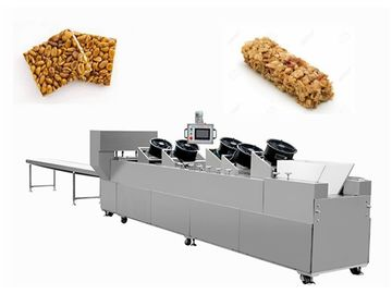 China Sesame Nut Crispy Molding Candy Cutting Machine / Puffed Cereal Bar Forming Machine factory