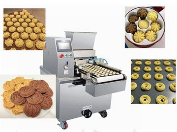 China Energy Saving Cookie Dough Machine Biscuit Depositing Line Extruder factory