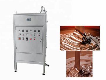 250L Continuous Chocolate Bar Production Line  Chocolate Tempering Equipment