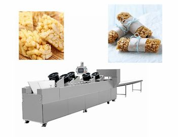 Snack Bar Candy Making Machine Heat Preservation Batch Roller And Rope Sizer