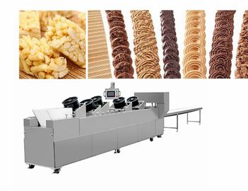 Peanut Butter Candy Making Machine , Peanut Brittle Cutting Machine