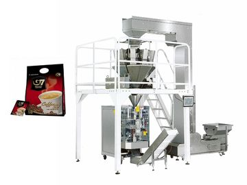 Automatic Multihead Weigher Packing Machine For Potato Chips 3 Year Warranty