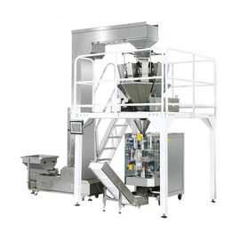 380V 50HZ Pastry Packaging Machine / PLC Control Multi Head Packing Machine