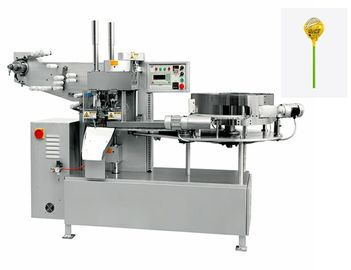 Commercial Candy Packaging Machine / Fully Automatic Round Lollipop Single Twist Packing Machine