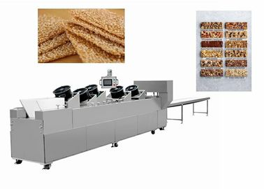 Stainless Steel 6KW Peanut Candy Bar Making Machine