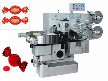 3 Kw 550pcs / Min Double Twist Wrapping Machine For Candy Packing