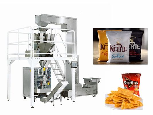 Touch Screen 4.5kw 60bag/Min Coffee Bean Packing Machine