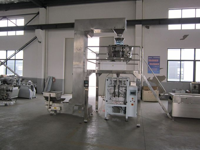 Precise Positioning Automatic Food Packing Machine Double Servo Control System